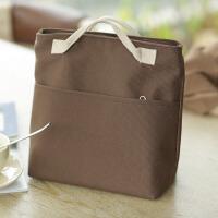 便当包饭盒袋手提妈咪包保温袋手拎包午餐带饭袋帆布购物袋
