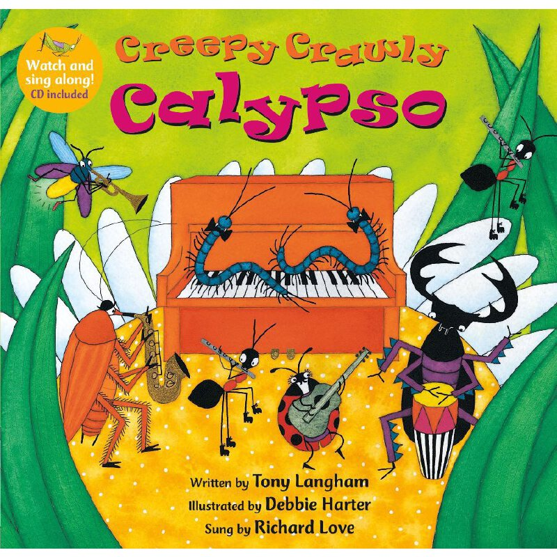 Creepy Crawly Calypso(A Barefoot Singalong)跟随音乐跳起来(书+CD)ISBN9781846868283
