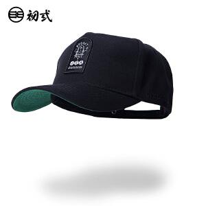 DRACONITE街头嘻哈刺绣印花潮牌男女弯檐鸭舌帽时尚青年帽子16075