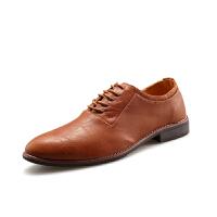 DAZED CONFUSED 2017春夏季英伦风男士商务休闲鞋小皮鞋青年潮鞋潮流男鞋子