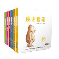 快乐的水豚・低幼启蒙无字书(套装共6册)