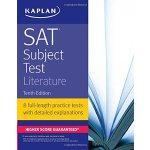 【中商原版】卡普兰SAT:文学 英文原版 SAT Subject Test Literature Kaplan Tes