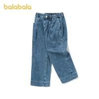 【�_�W季 折后�B券�A估�r:85.5】巴拉巴拉女大童�子冬�b�和�休�e�腿�牛仔�中大童小童