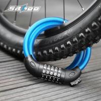 山地车锁自行车锁密码锁锁公路钢缆锁固定单车装备配件