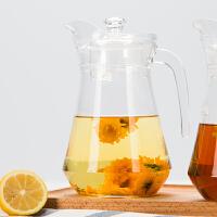 1.3升玻璃冷水壶大容量鸭嘴壶耐热水壶茶壶家用套装凉水壶玻璃凉开水杯子大容量茶壶扎壶