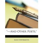 【预订】---And Other Poets, 9781146224680