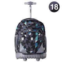 儿童拉杆书包中学生男大容量女生旅行双肩背包女孩中小学生拉杆包