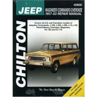 Jeep Wagoner, Commando, and Cherokee, 1957-83 (Chilton's To