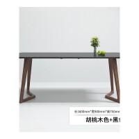 北欧餐桌现代简约饭桌个性创意家具实木腿小户型餐桌椅组合