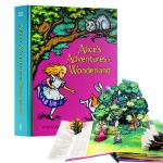 【中商原版】原版Alices Adventures in Wonderland爱丽丝梦游仙境立体书