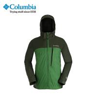 Columbia/哥伦比亚男款防水薄款夹克单层冲锋衣PM5810