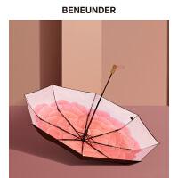 蕉下夏洛蒂太阳伞女晴雨两用防晒防紫外线雨伞森系复古简约轻奢伞