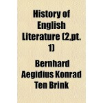【预订】History of English Literature Volume 2, PT. 1 978115386