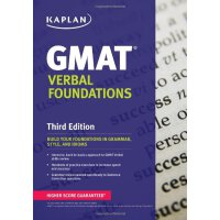 Kaplan GMAT Verbal Foundations【英文原版】卡普兰GMAT语文基础