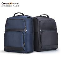 卡拉羊(Carany)14英寸电脑包男女商务防盗背包休闲旅行双肩包大学生书包CS5972