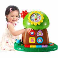 澳贝趣味小树音乐电子琴儿童早教幼儿益智1-3岁宝宝多功能玩具