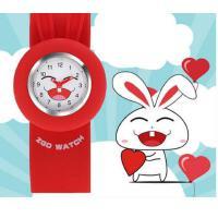跑步运动个性    女孩玩具小孩拍拍表    幼儿防水石英手表   男孩儿童手表