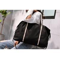 约时尚手提旅行包女男装衣服的包包单肩行李包大容量短途包世帆家SN4804 黑色 HB622 大