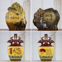 新中式家装饰品摆件陶瓷工艺品家居装饰品创意禅意摆件办公室软装