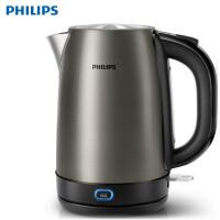 Philips/飞利浦 HD9338 电热水壶1.7L保温304食品级不锈钢烧水壶
