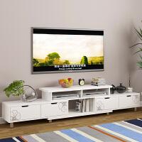 电视柜 现代简约电视机柜小户型客厅卧室电视柜简易地柜储物柜