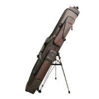竿包1.25米三层渔具包带支架垂钓用品高档台钓竿包防水硬壳