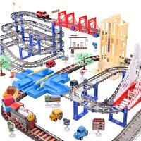 小火车套装电动轨道玩具男孩儿童轨道车火车男童益智3-5岁6