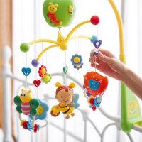 谷雨婴儿床铃音乐旋转宝宝玩具0-1岁床头摇铃床挂件玩具新生儿