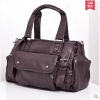 休闲男包 单肩包 斜挎包 手提包 旅行包包 新款韩版潮包
