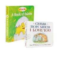 【中商原版】亲子儿童绘本2册 廖彩杏书单 英文原版 A Book of Babies 启蒙认知