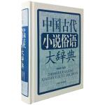 中国古代小说俗语大辞典