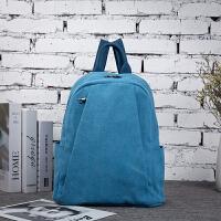 款双肩包2018女士复帆布包学生书包包袋文艺布包