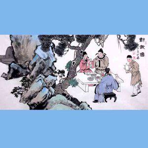 中国青年美术家协会常务理事,中国扇子艺术学会会员,中国山水画院专业画家,山东美术家协会会员,国家一级美术师高云鹏(对饮图)