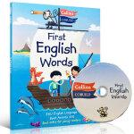 顺丰发货 英文原版 Collins First English Words CD 英语图解词典附CD 汪培�E推荐 30