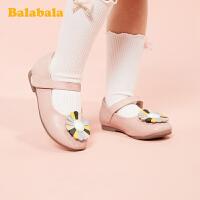 巴拉巴拉官方童鞋儿童皮鞋女公主鞋洋气小童鞋女2020新款春秋鞋子