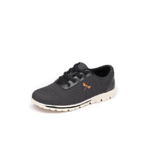 红蜻蜓男鞋2017冬季新款正品青春潮流休闲鞋子透气布鞋运动男板鞋