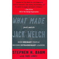 What Made Jack Welch Jack Welc(ISBN=9780307337207) 英文原版