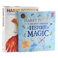 【中商原版】哈利波特魔法史组合 2册套装 英文原版 魔法史之旅+魔法史 展览书Harry Potter History of Magic JK罗琳 魔法世界 大英博物馆