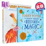 【中商原版】哈利波特魔法史组合 2册套装 英文原版 魔法史之旅+魔法史 展览书Harry Potter History