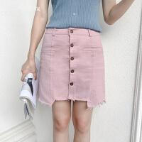 牛仔裙半身裙女新款夏季裙力韩版修身高腰短裙包臀a字裙