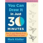 【中商原版】你能在30分钟内学会绘画 英文原版 绘画艺术 You Can Draw It in Just 30 Min
