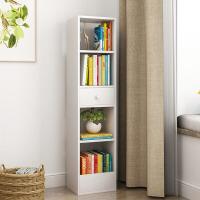 简易书架落地飘窗置物架小书柜学生用简易桌上书架