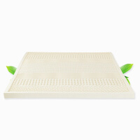 当当优品 乳胶床垫 进口天然护脊椎双人床垫 七区按摩款 适用于1米床