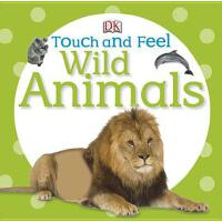 【预订】Touch and Feel: Wild Animals