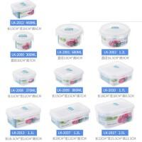 盒微波炉加热学生便当饭盒冰箱收纳密封塑料碗水果家居日用收纳用品收纳箱盒