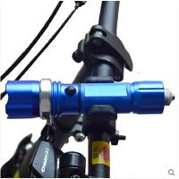 自行车装备自行车配件 Q5山地车前灯铝合金强光可变焦手电筒