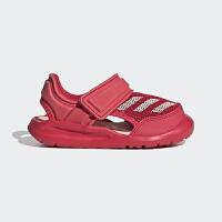 【4折价:119.6元】阿迪达斯(adidas)童鞋儿童凉鞋新款男女宝宝婴童魔术贴包头沙滩运动凉鞋BA9373 红色