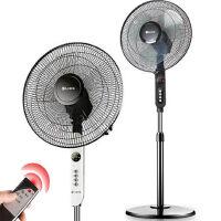 上海水仙 电风扇 落地扇FS40-S48Y遥控家用静音16寸落地扇学生五叶电扇 遥控电风扇
