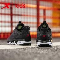 特步童鞋 2019夏季新款户外男童跑鞋耐磨减震旋科技儿童运动鞋681215119273
