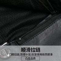 黑色PU皮短裤女新款秋冬高腰宽松显瘦百搭皮裤打底靴裤